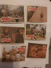 6 planet of the apes trading cards 1967