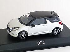 Citroen DS3 Cabrio Rennsport 2014 matt grau Norev 155295 Maßstab 1:43 Spielzeugautos