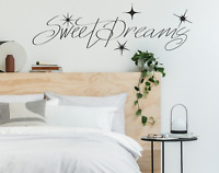 Sweet Dreams Quote Wall Stickers Art Room Wall Decal Art Quote Decoration