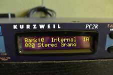 Kurzweil Pc2R Rack Mount Synthesizer Sound Module wth Orchestral Expansion Rom