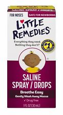 Little Remedies Breathe Easy Saline Spray/Drops for Nose 1 fl oz (Pack of 36)
