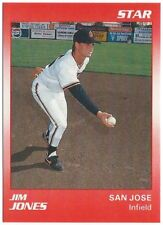 1990 Star San Jose Giants Minor League Baseball card - Pick your player