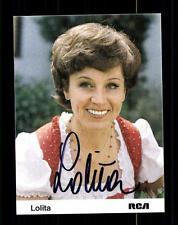 Lolita Autogrammkarte Original Signiert ## BC 78030