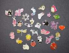 Enamel Pendants and Charms - Mixed Pack