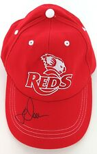 JAMES O'CONNOR SIGNED QLD REDS SUPPORTERS CAP. NEAR MINT / MINT CONDITION.