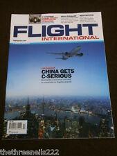 FLIGHT INTERNATIONAL # 5334 - CHINA PARTNERSHIP - MARCH 27 2012