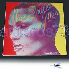 "GRACE JONES ""MUSE"" RARE LP MADE IN ITALY - GATEFOLD"