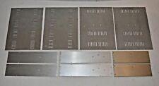 2 Original Cabinets/Gehäuseteile Cello Encore 50 Power Amp Silver - AV001849