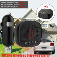 US Wireless Driveway Alert Alarm System Infrared Motion Sensor Security 1000ft