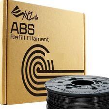 XYZ Printing Da Vinci 3D Printer ABS 1.75mm Filament Refill 600g   – Black