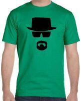 Heisenberg Face Breaking Bad Men's T-Shirt