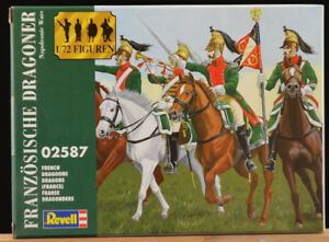 Revell Vintage 1/72 - # 02587 Franzosiche Dragoner Napoleonic Wars - mint 2005