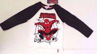 Marvel Ultimate Spider-Man Boy's Long Sleeve Sweatshirt Sizes 4,5,6,7 NWT