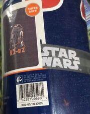 Star Wars R2-D2 Sweatshirt Bed Blanket 60in X 90in