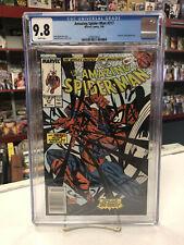 AMAZING SPIDER-MAN #317 Newsstand (Marvel, 1989) CGC 9.8 ~ VENOM ~ White Pages