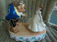 Disney Schmid Beauty and The Beast Porcelain Music Box Tale As Old Time Dance