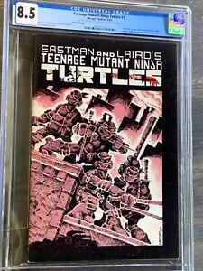 Teenage Mutant Ninja Turtles #1 CGC 8.5 oww Signed By Eastman & Laird 3rd Print