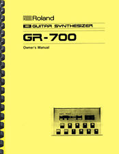 Roland GR-700 Guitar Synthesizer OWNER'S MANUAL and SERVICE NOTES