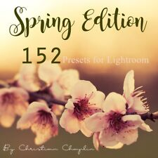 Pack 152 Presets Spring Edition Colors for Lightroom 4, 5, 6 & CC