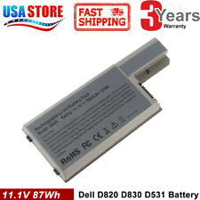 Laptop Battery for Dell Latitude D531 D531N D820 D830 Tc030 Cf623 Df192 6/9 Cell