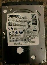 "Toshiba  MQ01ACF032 320GB 2.5"" SATA 7200 RPM"