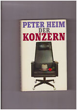 Peter Heim, Der Konzern. Roman Gebundene Ausgabe Bertelsmann Verlag Gut!