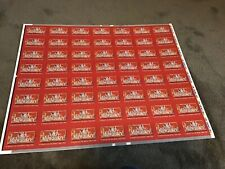 Rare Ohio Made US Playing Card Company Old Milwaukee  Uncut Sheet