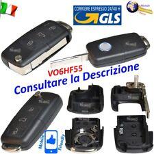 Telecomando GUSCIO VO6HF55 Chiave FLIP 3 TASTI per VW Altea Eos Golf Scirocco Ti