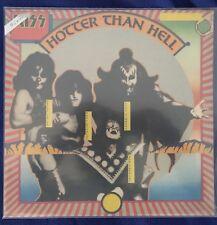 Kiss Rare Hotter than hell italian Durium 1974 original still sealed Lp 33 12