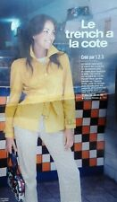 Patron couture trench coat femme taille 34 38 42 46 Cree par 1.2.3 prima n°221