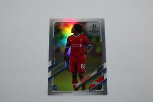 2020/21 - Topps Chrome Soccer - Yasser Larouci / Rc Refractor Card #91