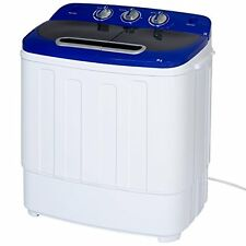 Best Choice Products Portable Compact Mini Twin Tub Washing Machine and Spin w/