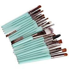 20 Pcs Eyeshadow Makup Brushes Tool Eye Eyeliner Lip Foundation Powder Brush Set