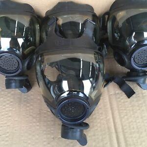 Authentic MSA Millennium CBRN 40mm Gas Mask Small OEM Full Face MSA Respirator