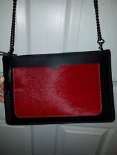 New Laura Di Maggio Calfhair and Leather Crossbody & clutch!