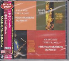 Pharoah Sanders Ballads With Love & Crescent With Love Japan Venus Records 2-CD
