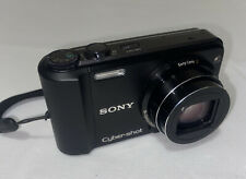 Sony Cyber-shot DSC-H70 16.1MP Digital Camera - Black TESTED Battery Included