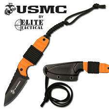 KNIFE COLTELLO DA CACCIA  ELITE TACTICAL USMC 2O SURVIVOR SOPRAVVIVENZA SURVIVAL