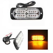 Yellow 20LED Car Truck Emergency Side Strobe Warning 19Selectable Flashing Light