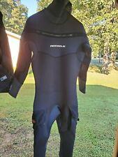 New listing Pinnacle Polar M8 Hooded Full Scuba Diving Wetsuit Men's Black Merino size XL