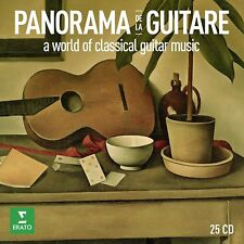 Panorama de la guitare-Brouwer. L./CACERES. O./+ Boxset 25 CD NEUF