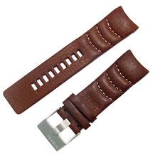 Diesel Genuine Original Watch Strap Real Leather S/Steel Buckle for DZ4037