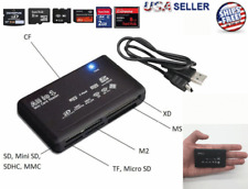 Memory Card Reader Mini 26-IN-1 USB 2.0 High Speed For CF xD SD MS SDHC