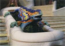 3D Lenticular Postcards - Lizard, Antonio Gaudi