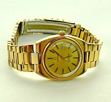 Omega Seamaster Gold Dial Automatic Ladies Watch 566.00.87