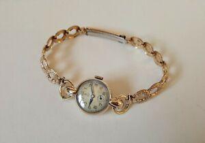Ladies Vintage .375 9ct Gold Manual Winding Rolex Tudor Royal Wrist Watch