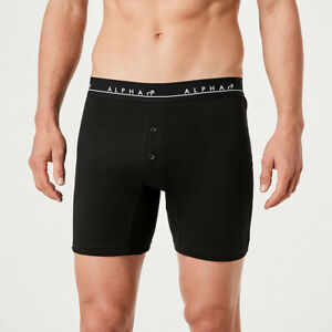 Alpha 4 Pack Mens Relaxed Fit Boxers