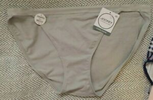 NWT Plus Size Jockey Cotton Allure String Bikini Panties-Size XXL