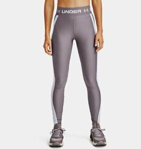 Women's Under Armour HeatGear® Armour Wordmark Waistband Leggings