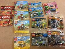 NEW Lego Poly Bags Star Wars Superheroes Nexo Disney Creator City Ninjago